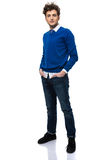 Full length portrait of a confident man Royalty Free Stock Photos