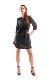 Full length portrait of a confident young female Royalty Free Stock Image