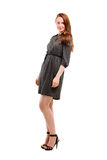 Full length portrait of a confident young female Stock Photos