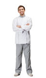 Full length portrait of cook Stock Images