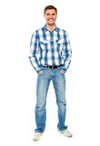 Full length portrait of fashionable young man Stock Photo