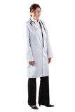 Full length Portrait of a Female Doctor Royalty Free Stock Image