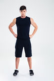 Full length portrait of a fitness man Royalty Free Stock Photography