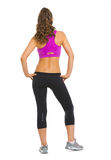 Full length portrait of fitness young woman Stock Photo