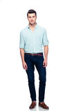 Full length portrait of a handsome man royalty free stock photo