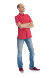 Full length portrait of handsome young man Stock Image