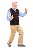 Full length portrait of a happy mature man Stock Photography