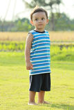 Full length portrait of a little boy Stock Photography