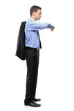 Full length portrait of a man Royalty Free Stock Image