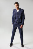 Full length portrait of man wearing suit, one hand in pocket Royalty Free Stock Photography