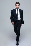 Full Length Portrait Of A Fashion Male Model Royalty Free Stock Photography