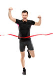Full length portrait of a runner Stock Photography