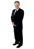 Full length portrait of a senior businessman Stock Images