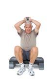 Full length portrait of a senior man exercising Royalty Free Stock Photo