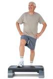 Full length portrait of a senior man Stock Image