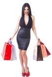 Full length portrait of stylish beautiful woman Stock Photo
