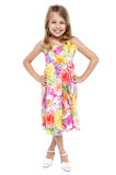 Full length portrait of stylish young girl Stock Photo