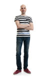 Full length portrait of a stylish young man Stock Photography