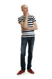 Full length portrait of a stylish young man Royalty Free Stock Photos