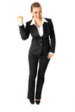 Full length portrait of successful business woman Stock Photo