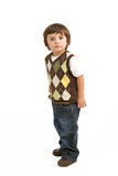 Full Length Portrait Of Young Boy Royalty Free Stock Images