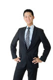 Full length portrait of young business man Stock Photography