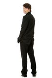 Full length portrait of young businessman Royalty Free Stock Image