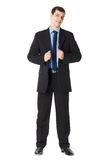 Full length portrait of a young businessman Royalty Free Stock Photos