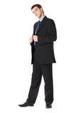 Full length portrait of a young businessman Stock Image