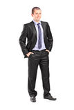Full length portrait of a young businessman Stock Photo