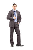 Full length portrait of a young businessman standing Stock Photo