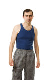 Full length portrait of young guy Royalty Free Stock Images