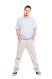 Full-length portrait of young man Stock Image