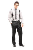 Full length portrait of a young stylish man looking at camera Stock Photo