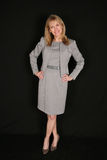 Full length of pretty businesswoman Stock Images