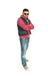 Full length of rapper man Stock Photo
