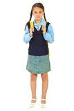 Full length of schoolgirl Stock Photo