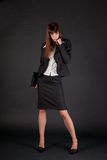 Full length shot of business woman Royalty Free Stock Image