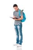 Full length student boy Stock Photography