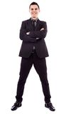 Full length of successful businessman Stock Images