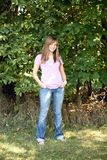 Full length of teen girl Royalty Free Stock Images
