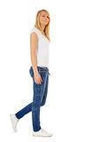 Full length teenage girl Stock Photo