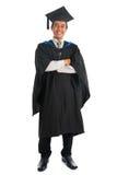 Full length university student graduation Royalty Free Stock Photography