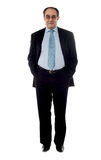 Full-length view of a company manager Stock Photo