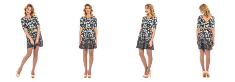 Full length of  woman  wearing dress Royalty Free Stock Photography