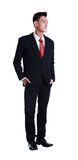 Full length young asian business man standing Stock Photo