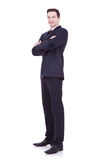 Full length of young business man Royalty Free Stock Photo
