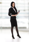 Full length young business woman Stock Photography