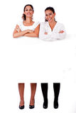 Full length of young business women's Royalty Free Stock Image