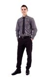 Full length of young businessman Royalty Free Stock Photo